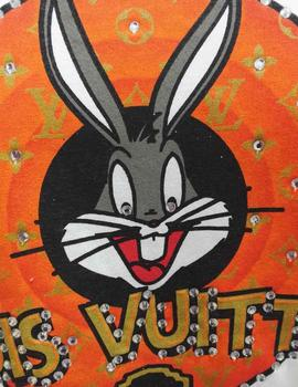 CAMISETA STRASS LOUIS VUITTON BUGS BUNNY