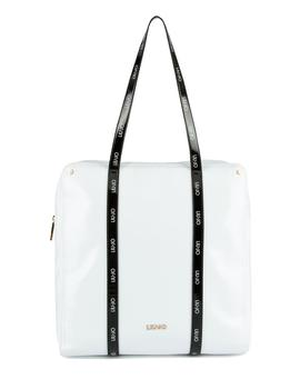 SHOPPING TOTE ARDEATINA BLANCO