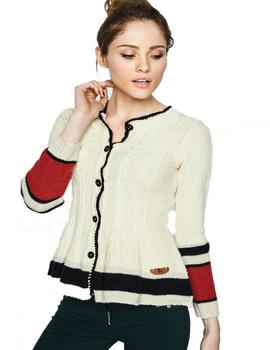CHAQUETA HIGHLY PREPPY OCHOS BEIGE