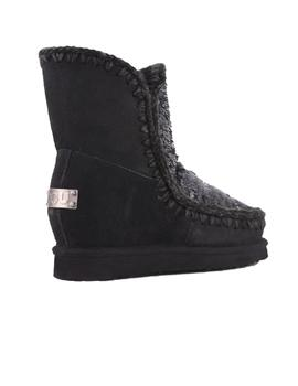 BOTA MOU ESKIMO WEDGE SHORT SEQUINS NEGRA