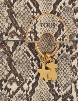 BOLSO TOUS CITY HOLD WILD BEIGE