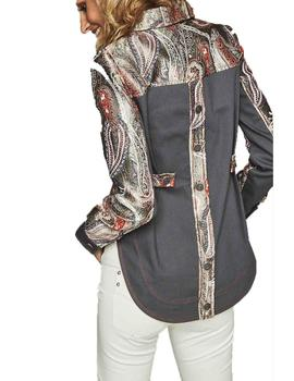 CHAQUETA HIGHLY PREPPY PAISLEY COMBI