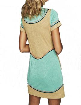 VESTIDO HIGHLY PREPPY PUNTO LUREX