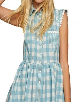 VESTIDO MAGGIE SWEET CANDY CUADROS