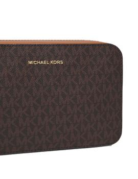 BANDOLERA MICHAEL KORS JET SET MARRRON