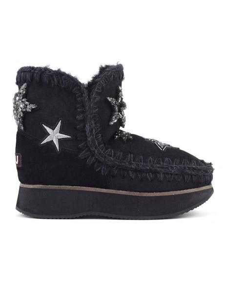 BOTA MOU RUNNING ESKIMO 18 STAR PATCHES- NEGRA